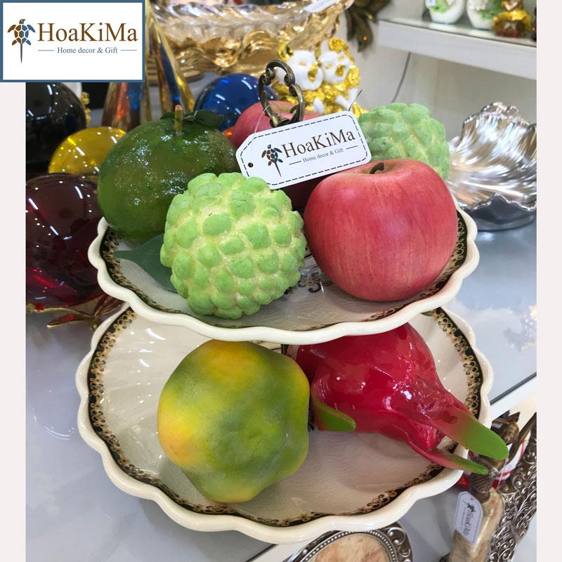 Đĩa hoa quả trang trí bếp