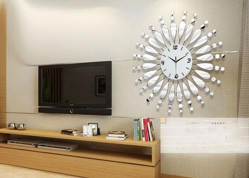 Đồng hồ trang trí gương treo tường