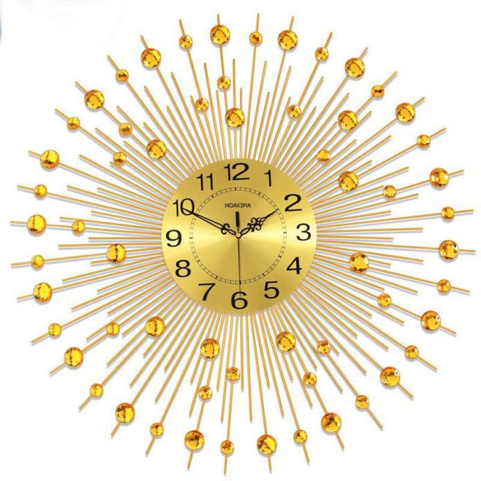 Đồng hồ treo tường mặt trời