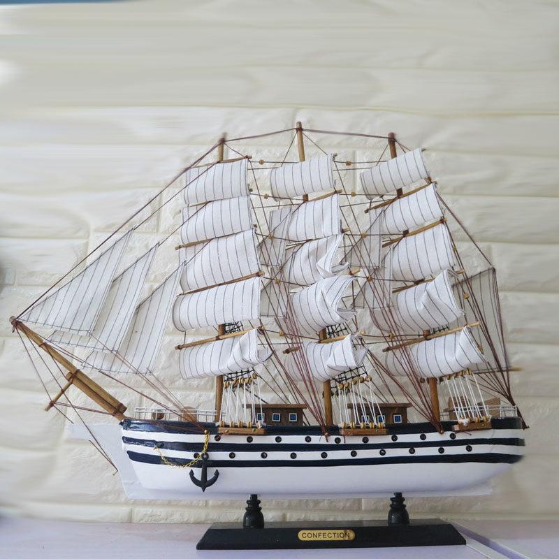 Mô hình thuyền buồm trang trí