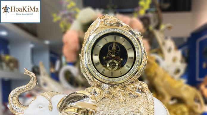 Đồng hồ để bàn độc đáo